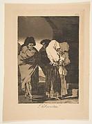 Plate 22 from 'Los Caprichos': Poor little girls! (Probrecitas!)