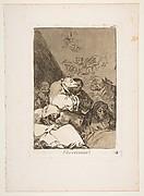 Plate 46 from ' Los Caprichos': Correction (Correccion.)