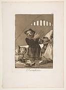 Plate 49  from 'Los Caprichos': Hobgoblins (Duendecitos.)