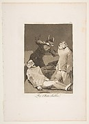 The Chinchillas (Los Chinchillas), from The Caprices (Los Caprichos), plate 50