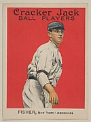 Fisher, New York, American League, from the Ball Players series (E145) for Cracker Jack
