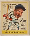 Joe Di Maggio, Yankees