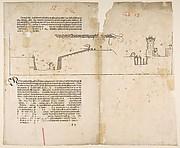 Last Illustration from Dürers Treatise on Fortification, Nuremberg, 1527