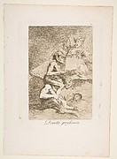 Devout Profession (Devota profesion), from The Caprices (Los Caprichos), plate 70