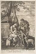 Holy Family with St. John