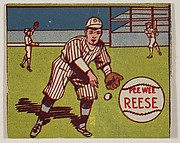 Pee Wee Reese, from the series Baseball Stars