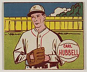 Carl Hubbell, from the series Baseball Stars