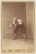 Barney Gilligan, Catcher, Detroit, from the series Old Judge Cigarettes