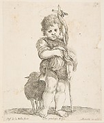 Saint John the Baptist Holding His Folded Robe