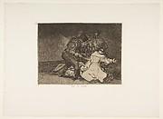 Plate 46 from 'The Disasters of War' (Los Desastres de la Guerra): 'This is bad.' (Esto es malo.)