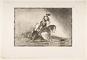 Charles V Spearing a Bull in the Ring at Valladolid (Carlos V lanceando un toro en la plaza de Valladolid)