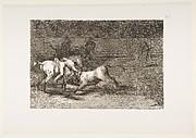 Mariano Ceballos, Alias the Indian, Kills the Bull from His Horse (Mariano Ceballos, alias el Indio, mata el toro desde su caballo)