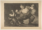 Simpleton, plate 4 from Disparates