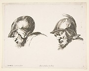 Heads of Two Old Soldiers