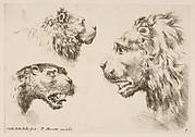 Heads of Three Lions