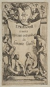 Frontispiece for Epigrammi de Guelfi