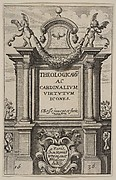 Frontispiece to The Theological and Cardinal Virtues