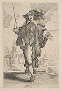 Gentleman Holding a Crop