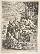 Frontispiece for Opere di Galileo Galilei