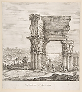 The Temple of Vespasian and the Roman Forum
