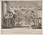 A Printing Shop (Les Imprimeurs en taille-douce)