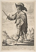 A Frenchman, Sword in Hand (Le Français in garde)