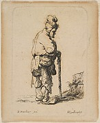 Beggar Leaning on a Stick (reverse copy)