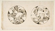 Designs for Plates Taken from Oudry's Illustrations to La Fontaine's Fables
