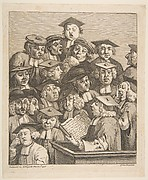 Scholars at a Lecture