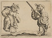 Les Danseurs au Luth (The Dancers with a Lute), from Les Caprices Series B, The Nancy Set