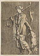 Woman Returning from the Hunt