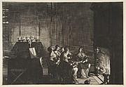 """Foolish Virgins Sleeping (Les Vierges folles somnolent en attendant l'arrivé de l""""époux)"""