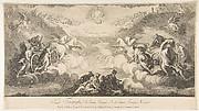 Triumph of Saint Ignatius and Saint Francis Xavier (Le Triomphe de Saint Ignace et de Saint François Xavier qui est au Collége de Louis le Grand...Paris)