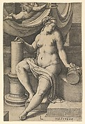 Fortitude, from the series The Seven Virtues