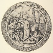 The Betrayal of Christ, (Christ Taken Captive), from the Circular Passion