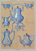 Design for a Silver Tea and Coffee Service