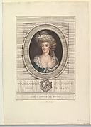 Portrait of Marie Antoinette