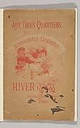 Aux Trois Quartiers, Nouveautés Élégantes, Hiver 1887–88