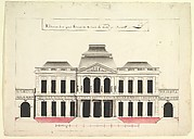 Elevation for a Town House or a Municipal Building