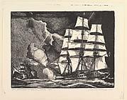 The Saratoga vs. The Barbary Pirates