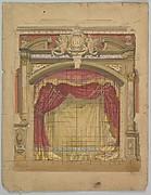 Design for a Stage Set: Casino de St. Etienne