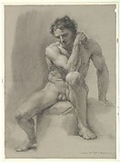 Seated Nude Male