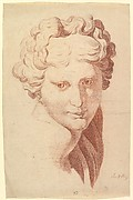 Idealized Female Head, Copied after the Antique