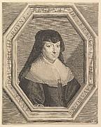 Anne d'Autriche, reine de France, en habit de deuil