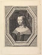 Anne d'Autriche, reine de France, en deuil de cour