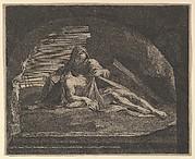 La Vierge au sepulcre