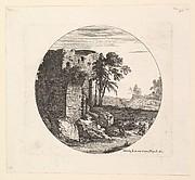Les Ruines a gauche