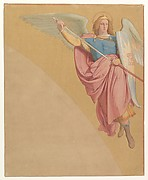 Archangel Drawing a Sword