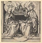 The Enthronement of the Virgin