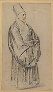 Portrait of Jesuit Nicolas Trigault in Chinese Costume